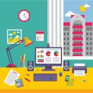 http://www.dreamstime.com/stock-photography-business-office-workplace-flat-design-style-infographic-computer-monitor-vector-illustration-presentation-booklet-image40921442
