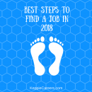 Best steps to find a job in 2018